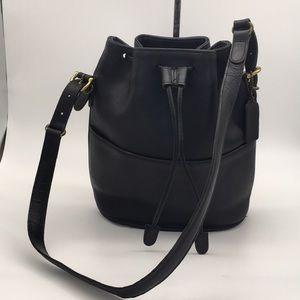 Beautiful vintage Coach drawstring bag made in USA